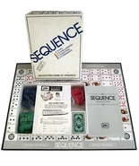 Sequence Board Game 1995 JAX 8002 - $11.90