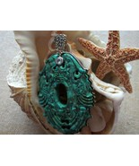 Turquoise and Topaz Sterling Silver Pendant Amy... - $165.00