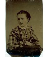 1870 TINTYPE of Charlotte M. Smith - $8.00