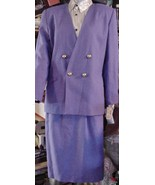 Atrium Womens Lavender Church Dressy Lined Skir... - $74.25
