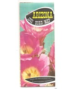 1961 Arizona Road Map Official early Highway St... - $13.37