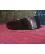 Vintage tigers-eye lucite rockabilly runway pin... - $35.32