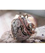 Inside the Clock  Steampunk  OOAK  Ring Size 5 ... - $39.50