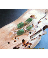 Handcrafted Natural Green Aventurine Sweeps/Pin... - $18.50