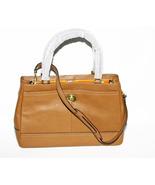 Coach Handbag British Tan Leather Carryall Shou... - $265.00