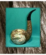 Vintage ceramic figural Wine Decanter Briar Pip... - $36.00