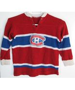 Montreal Canadiens Hockey Sweater Childs Vintag... - $11.93