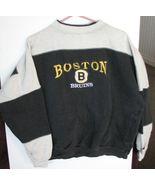 Boston Bruins Sweatshirt NHL Team Logo Adult Cr... - $8.73