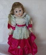 Porcelain Collectors Doll Blond Wavy hair # L - $30.00