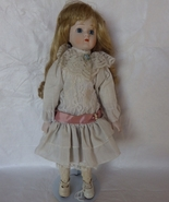 Porcelain Collectors Doll Blond Curly hair Off ... - $30.00