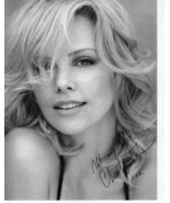 8 x 10 Autographed Photo of Charlize Theron RP - $4.00