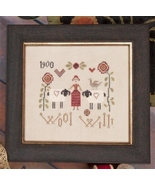 Wool Willi cross stitch chart Jeanette Douglas ... - $9.00
