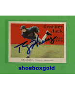 Roy Halladay, SIGNED 2004 Cracker Jack Card wit... - $24.49