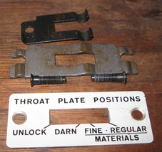 Singer Touch & Sew Throat Plate Position Cover,... - $10.00