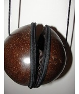Purse - Coconut Shaped - Shoulder Length with A... - $34.00
