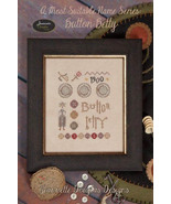 Button Betty cross stitch chart Jeanette Dougla... - $9.00