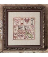 Take Time For Love cross stitch chart Jeanette ... - $10.80