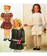 Butterick 6713  Girls Party Dress Pattern Size ... - $12.95