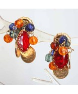 Fabulous Bohemian Cut Glass, Sim Coin & Plastic... - $12.95