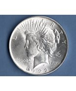 1922 MS Peace Silver Dollar US Coin Money - $45.00