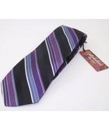 Michelson's of London Multi Stripe Purple Blue ... - $64.99