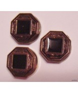 lot of 3 Gorgeous Victorian Button Covers - $15.95
