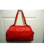 Trevero True Red Leather  Handbag - $99.99