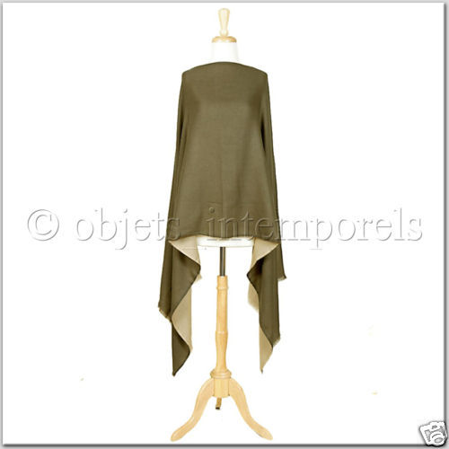 LIVE THE GOOD LIFE  TIMELESS PIECES double face cashmere pashmina scarf stole