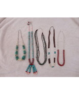 LOT OF 5 NAVAJO NECKLACES - $454.99