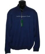 NWT BOBBY JONES Golf  1/2 zip M sweater soft PI... - $99.99