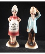 Pregnant Grandma and Confused Grandpa Salt Pep... - $12.99