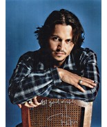 8 x 10 Autographed Photo of Johnny Depp RP - $7.00