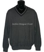 NWT BOBBY JONES Golf  V-neck M sweater cotton c... - $89.09