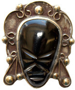 Vintage_mexico_mask_brooch_carved_black_onyx_sterling_silver_c1940s_thumbtall