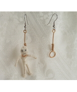Wire Hangman and Noose Earrings - $18.00