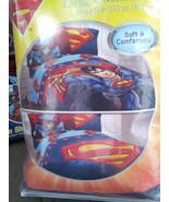 Superman 4 Piece Twin/Single Size Comforter wit... - $65.00