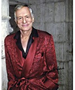 8 x 10 Autographed Photo of Hugh Hefner RP - $7.00