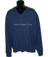 NWT BOBBY JONES Golf  XXL 2XL V-neck sweater bl... - $79.19