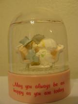 Vintage Russ Snow Globe
