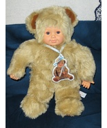 Anne Geddes Bear Doll 15 inch 1997 - $19.99