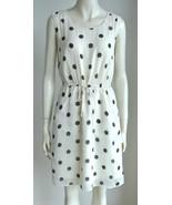 NEW J CREW Scatter Polka Dot silk sleeveless Dr... - $100.00