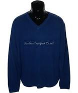 NWT BOBBY JONES Golf $395 L blue 100% Cashmere ... - $158.39