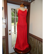 Chica's Medium Red Formal Cruise Party Evening ... - $39.99