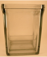 antique glass Willard battery case - $60.00