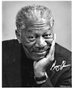 8 x 10 Autographed Photo of Morgan Freeman RP - $7.00
