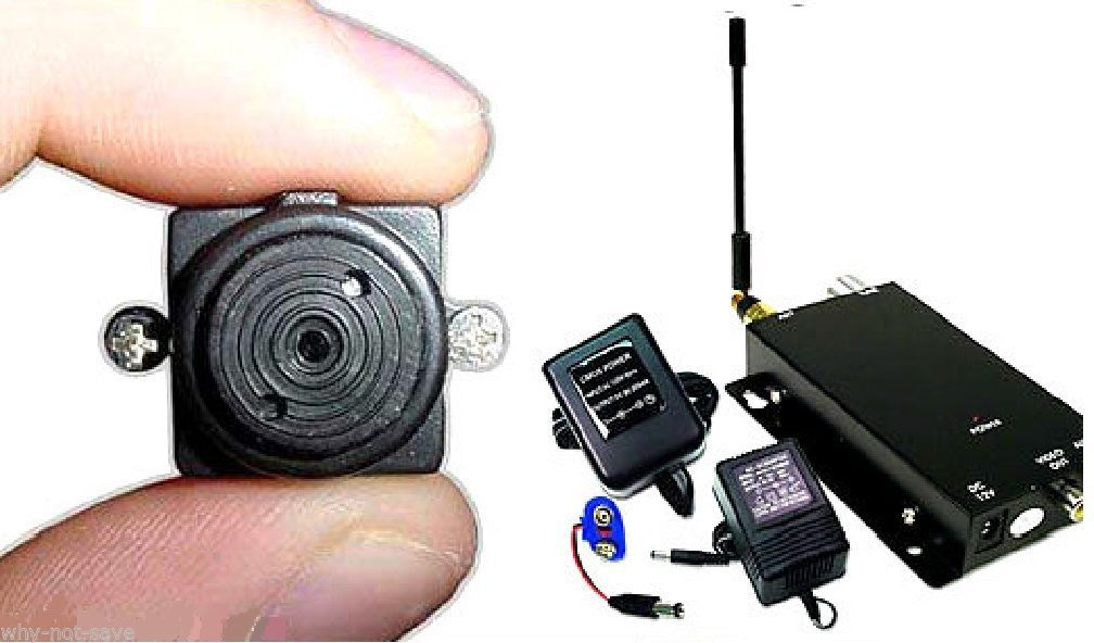 Wireless Spy Nanny Cam Mini Micro Security Covert Camera