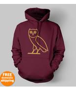 OVOXO gold owl logo hoodie OVO XO Drake Fan hoo... - $34.95