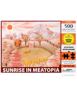 Sunrise in Meatopia - 500 Piece Meat Lovers Puzzle - $7.69