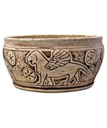 Weller Pottery Burntwood Lebanon Bowl, circa 1910 - $125.00