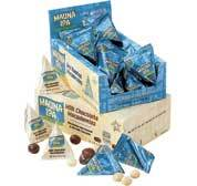 Chocolate Covered Macadamia Nut Favors Case of 24 Bags
